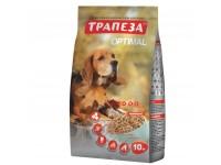 Трапеза Оптималь сухой корм для собак с говядиной 10 кг