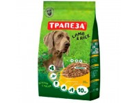 Трапеза сухой корм  для собак с Ягненком и Рисом 10 кг
