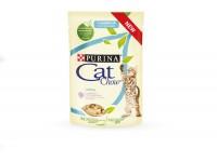 "Cat Chow паучи для котят ""Кусочки в желе с индейкой и кабачком"" 85 гр"