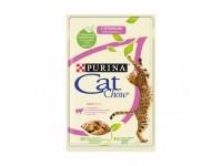 Cat Chow паучи для кошек кусочки в желе с ягненком и зеленой фасолью 85 гр