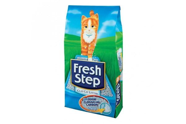"""Наполнитель """"Fresh Step"""" комкующийся, 6,35 кг"""