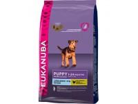 EUK Dog корм для щенков крупных пород 3 кг