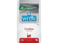 Ветеринарный корм Farmina Vet Life Cat Cardiac корм для кошек поддержания работы сердца при хронической сердечной недостаточности 2 кг