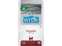 Ветеринарный корм Farmina Vet Life HEPATIC корм для кошек при хронической печеночной недостаточности 2 кг