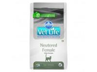 Ветеринарный корм Farmina Vet Life Cat Neutered Female для взрослых стерилизованных кошек 5 кг