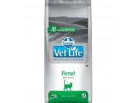 Ветеринарный корм Farmina Vet Life Cat Renal  для кошек, разработанный для поддержания функции почек при почечной недостаточности 5 кг