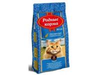 """Сухой корм для взрослых кастрированных котов и стерилизованных кошек Родные корма """"30/14"""" (5 фунтов/2,045 кг)"""