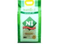 Наполнитель N1  NATUREL Зеленый чай (17,5 л) комкующ