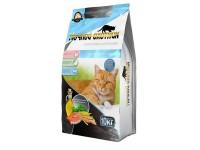 Ночной Охотник Сухой корм для кошек Морской коктейль 10 кг