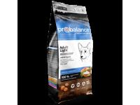Probalance Adult Light, сухой корм для собак, контроль веса, 15кг
