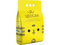 """Наполнитель для гладкошерстных кошек """"ЦЕОСАН"""", 5,5 кг (8 л)"""