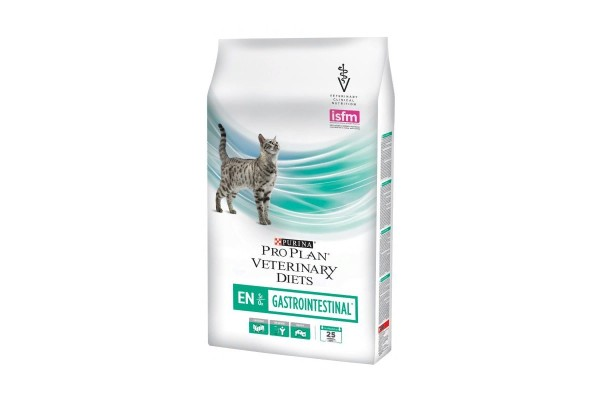 Pro Plan Veterinary Diets Feline EN Gastrointestinal dry  Диета для взрослых кошек при проблемах с ЖКТ 1.5 кг