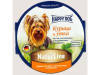 Happy Dog Natur Line паштет для собак Курица и утка, 85 г