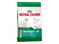 Корм для собак с 8 лет до 12 лет Mini Mature +8, 4 кг