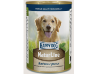 Happy Dog Natur Line консервы для собак Ягненок с рисом, 400 г