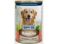 Happy Dog Natur Line консервы для собак Телятина с рисом, 400 г
