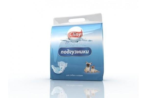 Подгузники Cliny для собак и кошек 15-30 кг, размер ХL