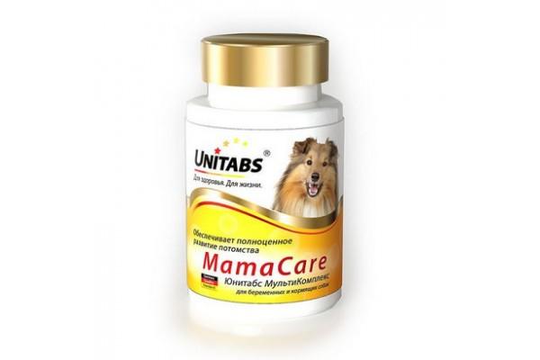 Unitabs MamaCare для беременных и кормящих собак, 100 таблеток
