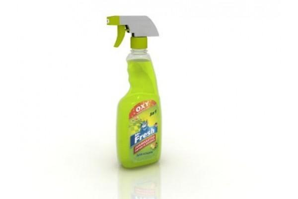 Mr. Fresh (М. Фреш) 3 в 1 ликвидатор пятен и запаха для кошек, 500 мл (спрей)