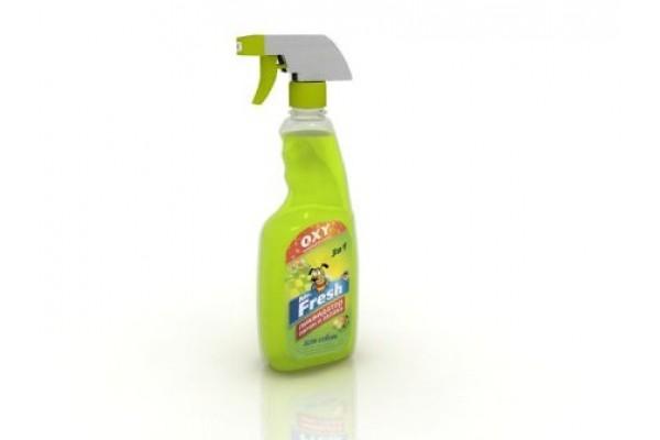 Mr. Fresh (М. Фреш) 3 в 1 ликвидатор пятен и запаха для собак, 500 мл (спрей)