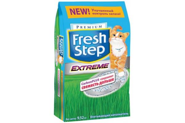 """Наполнитель """"Fresh Step"""", тройной контроль запаха, 9,52 кг"""