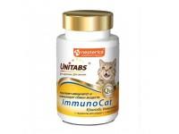 Unitabs ImmunoCat c таурином для кошек с 1 года до 8 лет, 120 таблеток