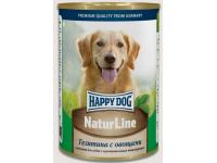 Happy Dog Natur Line консервы для собак Телятина с овощами, 400 г