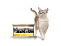 Pro Plan Light Влажный корм для кошек с избыточным весом с индейкой, 85 г
