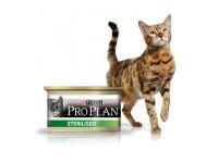 Pro Plan Sterilised Влажный корм для стерилизованных кошек с лососем и тунцом, 85 г