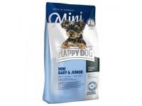 Happy Dog Mini Baby & Junior для щенков мелких пород собак с 4 недель, 1 кг