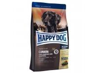 Happy Dog Supreme Sensible Canada для взрослых собак и щенков с 6 месяцев с повышенной потребностью в энергии, не содержит злаков, 1 кг