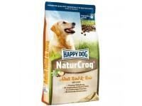 Happy Dog Naturcroq для взрослых собак всех пород Ягненок и Рис, оптимальное пищеварение, 15 кг