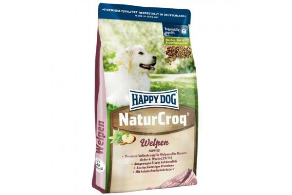 Happy Dog Naturcroq Welpen для щенков всех пород с 4 недель, 15 кг