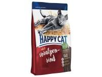 Happy Cat Supreme Adult для взрослых кошек Альпийская говядина, 10 кг