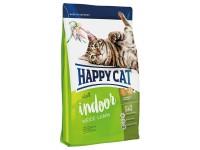Happy Cat Supreme Indoor для домашних кошек с чувствительным пищеварением Пастбищный Ягненок, 300 г