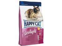 Happy Cat Supreme Sterilised контроль аппетита для стерилизованных кошек и кастрированных котов, 1,4 кг