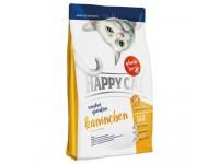 Happy Cat Sensitive Кролик гиппоаллергенный корм на основе кролика, говядины, картофеля и моркови, без злаков, 300 г