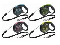 Поводок-рулетка для собак до 12 кг, Flexi Design cord S, 5 м