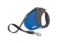 Рулетка Flexi Comfort Compact 1 (до 15 кг, лента 5 м, синий), размер S