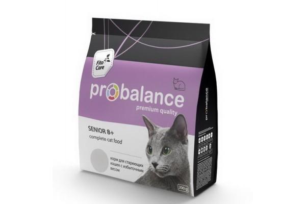 ProBalance SENIOR 8+ для кошек старше 8 лет, 400 г