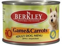 Беркли конс. д/с 200г оленина/морковь №10