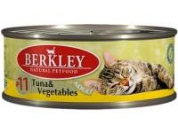 Беркли конс. д/к 100г тунец/овощи №11