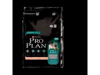 Pro Plan Small & Mini Sensitive Derma Сухой корм для щенков мелких и карликовых пород с чувствительной кожей с лососем и рисом, 3 кг