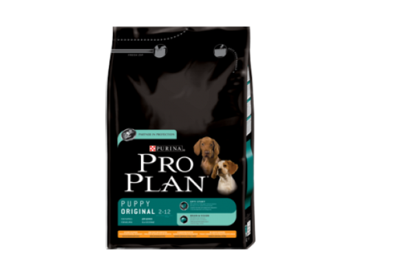 Pro Plan Puppy Original Сухой корм для щенков всех пород с курицей и рисом, 3 кг
