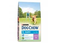 Dog Chow Puppy All Breeds сухой корм для щенков с ягнёнком, 14 кг