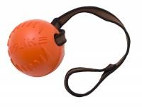 ДогЛайк Мяч д/собак с лентой Средний / DM-7345/4180