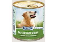 Happy Dog Natur Line консервы для собак Вкусная баранина с сердцем, печенью и рубцом, 750 г
