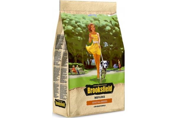 Бруксфилд д/с всех пород говядина с рисом 3кг