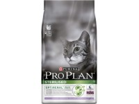 Pro Plan Sterilised Сухой корм для стерилизованных кошек с индейкой, 400 г