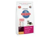 Science Plan Canine Adult Sensitive Skin - сухой корм для собак с чувствительной кожей, со вкусом курицы, 1 кг (5282EA)